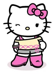 Even Hello Kitty likes the 80's!