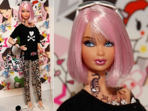 I can't accept Barbie as a punk, either.
