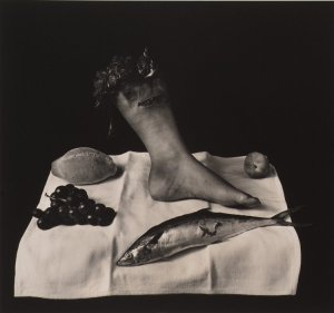 [For those not familiar with Joel-Peter Witkin, this is one of his tamer photos]