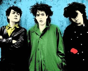 The Cure, before Robert Smith became a caricature of himself.