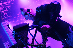 KMFDM's Sascha Konietzo and self-proclaimed father of industrial rock.